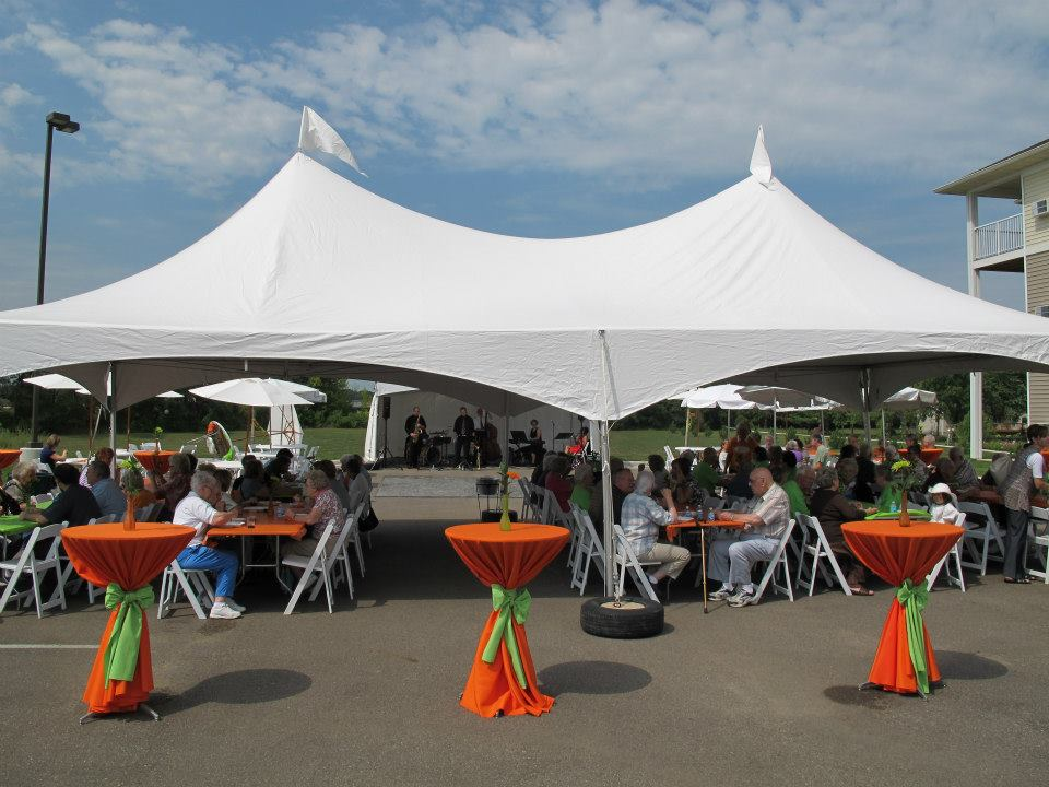Frame Tents - Rent today with G & K Event Rentals