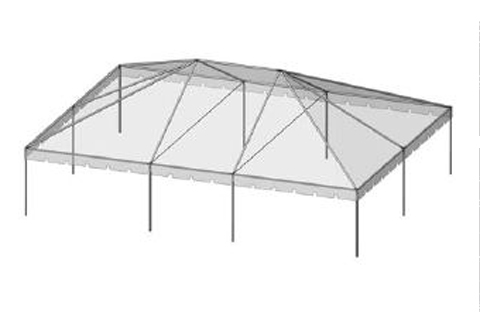 30x40 Frame Tent - THIS IS MEDIA - G & K Event Rentals