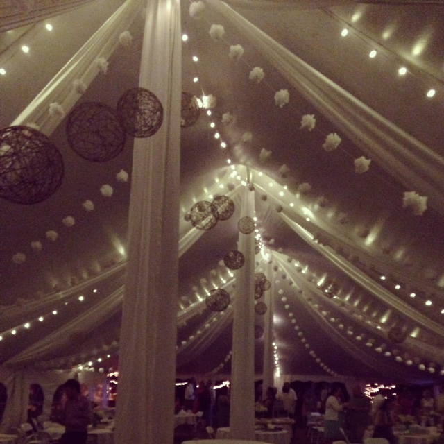 Tent String Lights - LED - THIS IS MEDIA - G & K Event Rentals