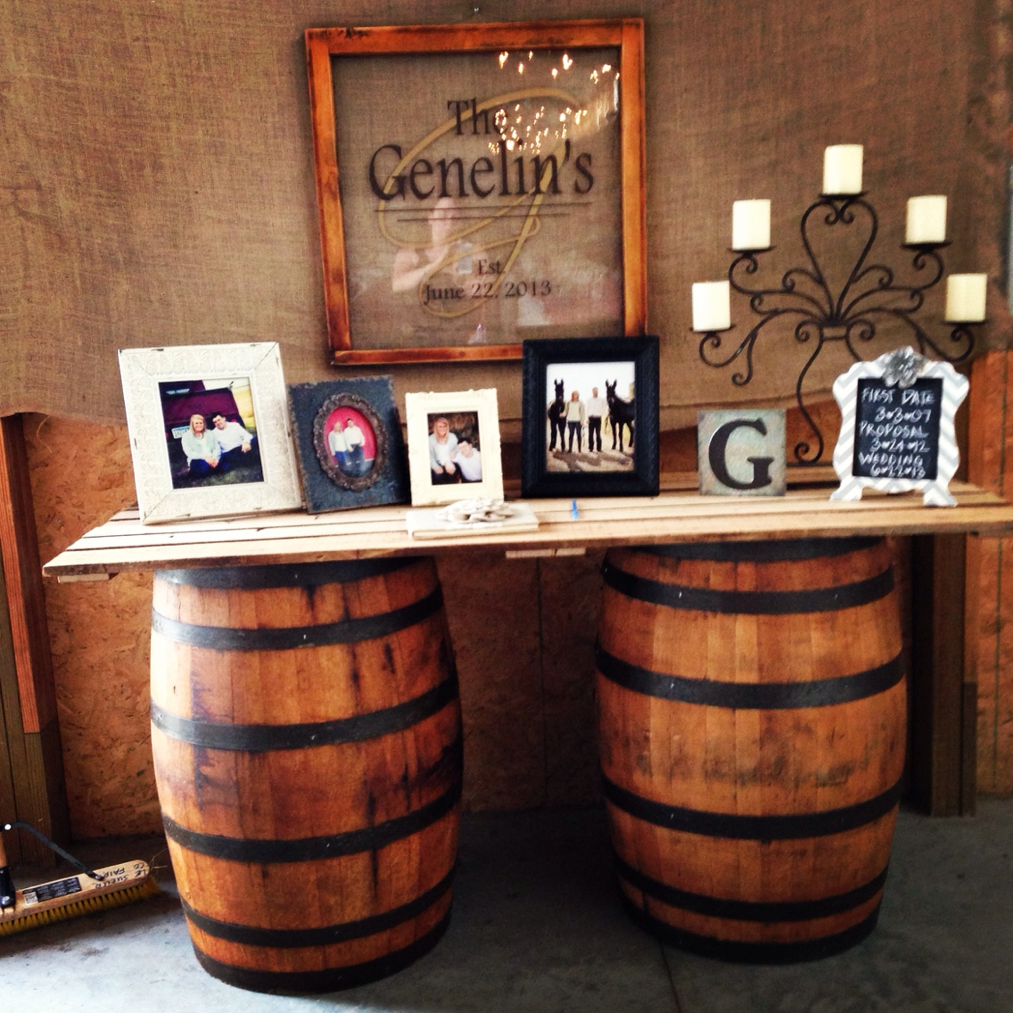Wine Barrel Bar This Is Media G Amp K Event Rentals