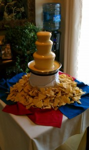 Chocolate Fountain cheese