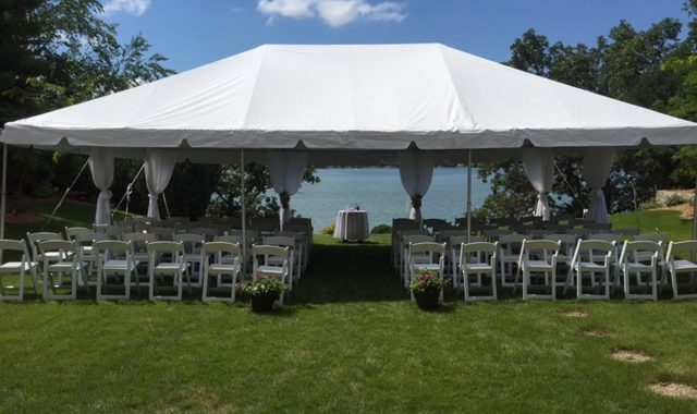 Wedding Ceremony under a Tent & Wedding Ceremony under a Tent - Rent Today! - G u0026 K Event Rentals