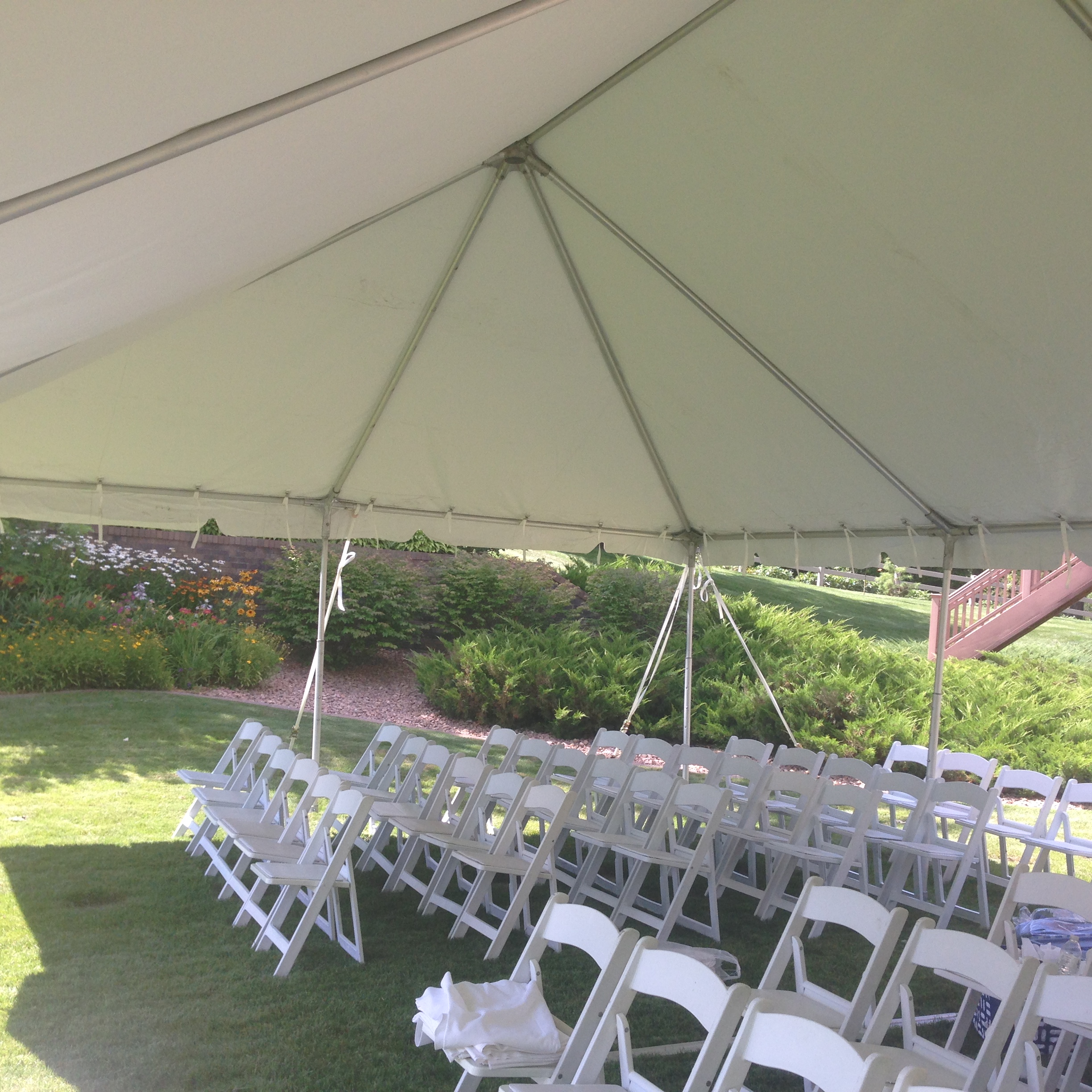 Wedding Ceremony under a Tent : wedding ceremony tent - memphite.com