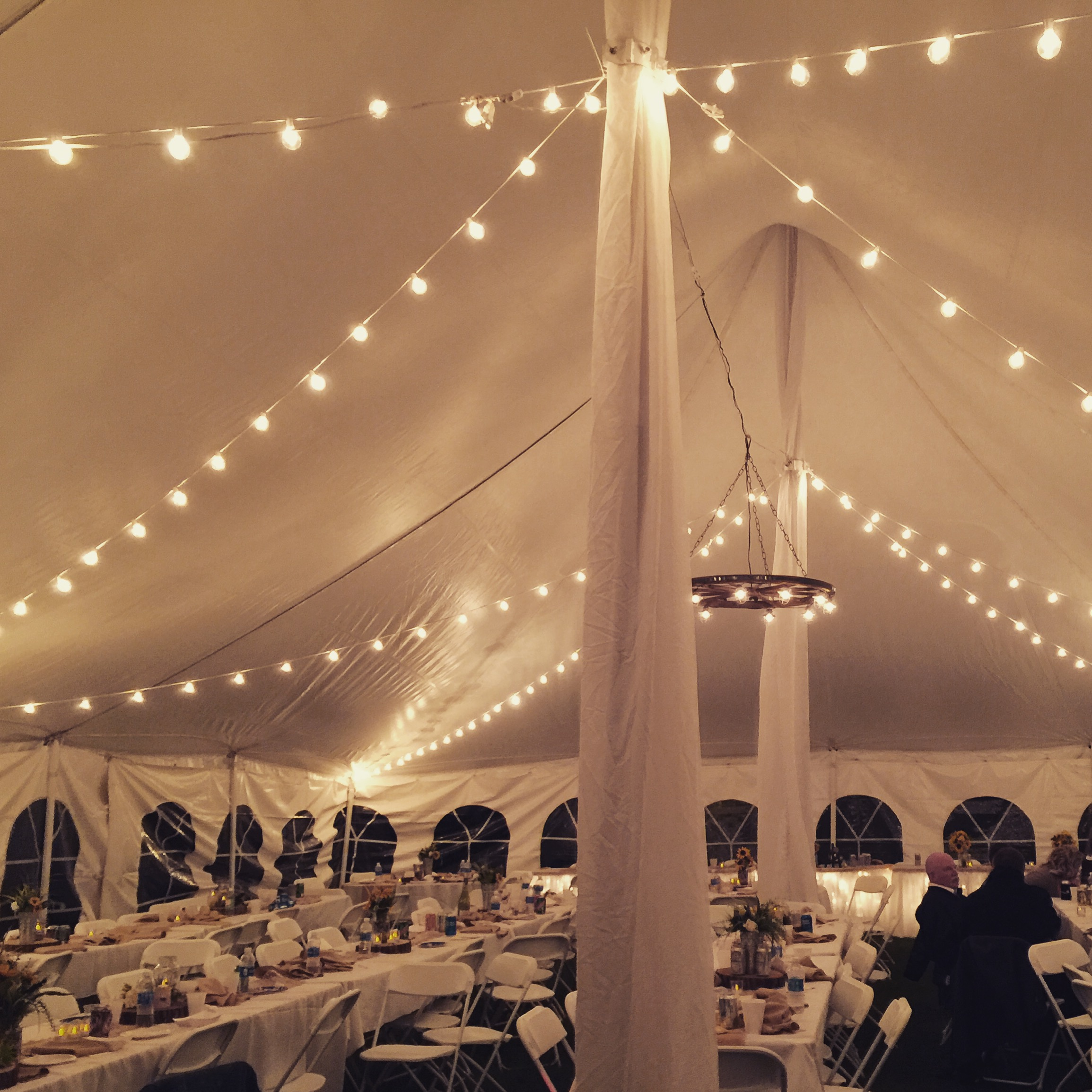 40x60 Pole Tent Wedding 2 This Is Media G Amp K Event