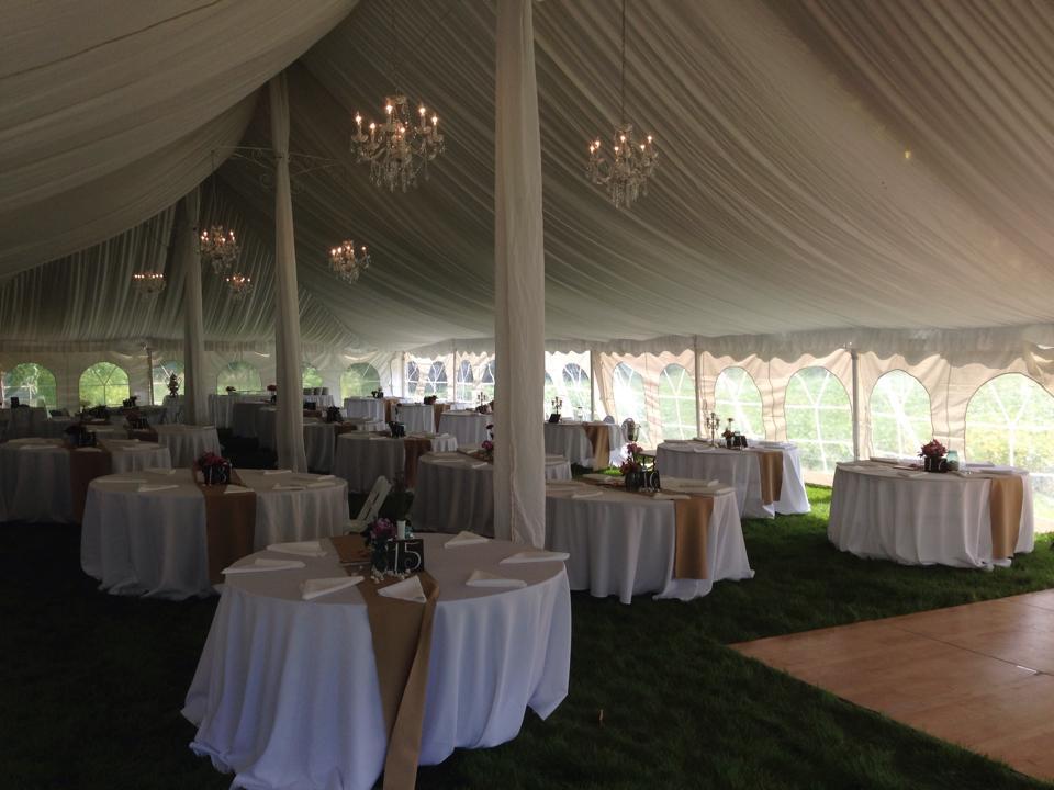 Lined Chandelier Tent Wedding Rent Today G Amp K Event